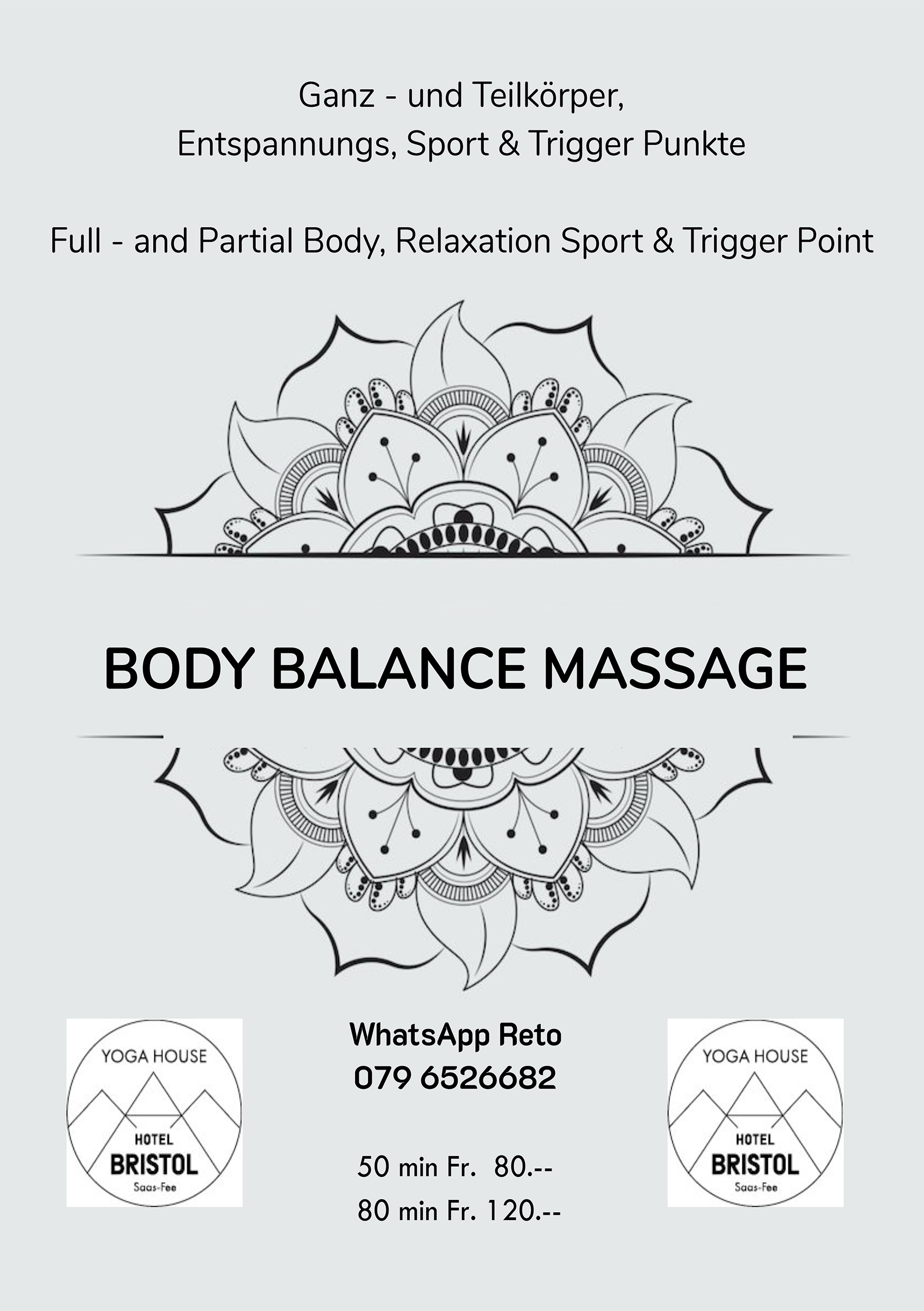 Body Balance Massage A5