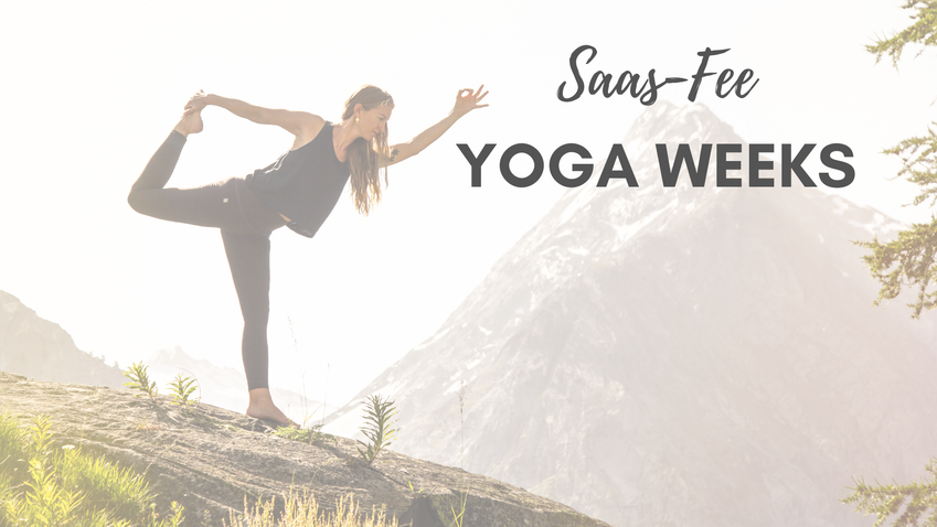 Saas Fee Yoga Weeks